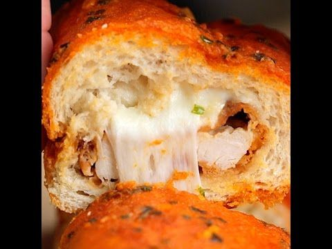 Buffalo Fried Chicken Baguette - Twisted