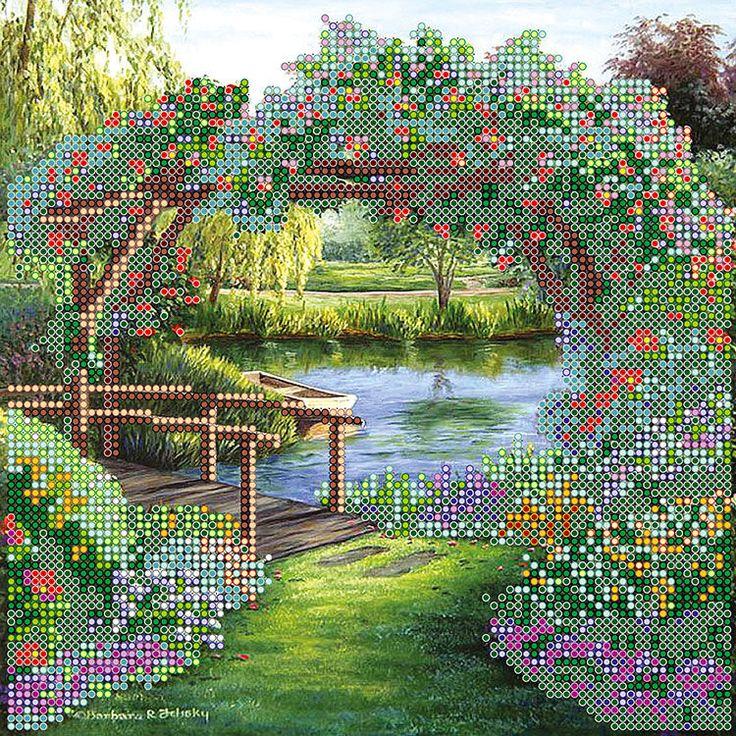 Цветочная арка AC-476