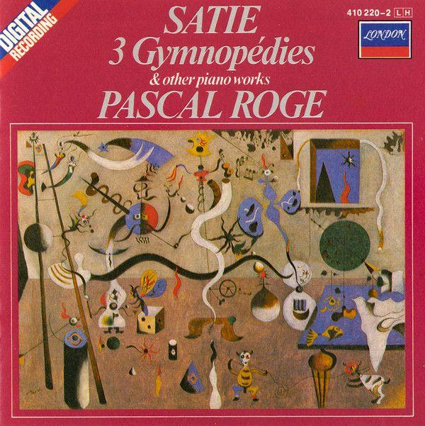 Joan Miró. Erik Satie, Pascal Rogé - 3 Gymnopédies & Other Piano Works  #cover #covercd #portada #portadacd #caratula #caratulacd #albumcover