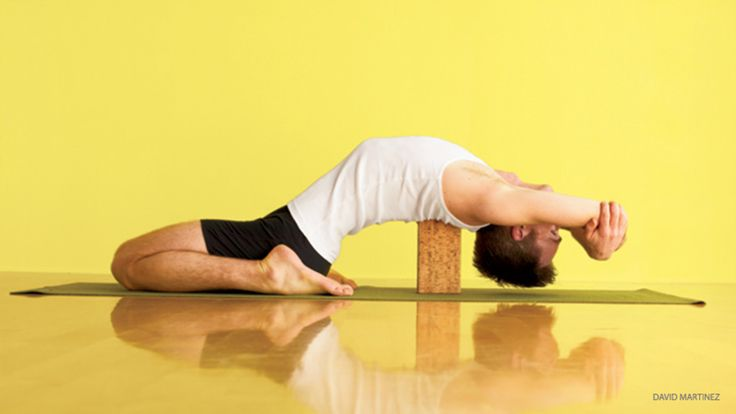 Try Yoga Backbends with Props: Block + Chair Backbends for Kapotasana - Yoga Journal
