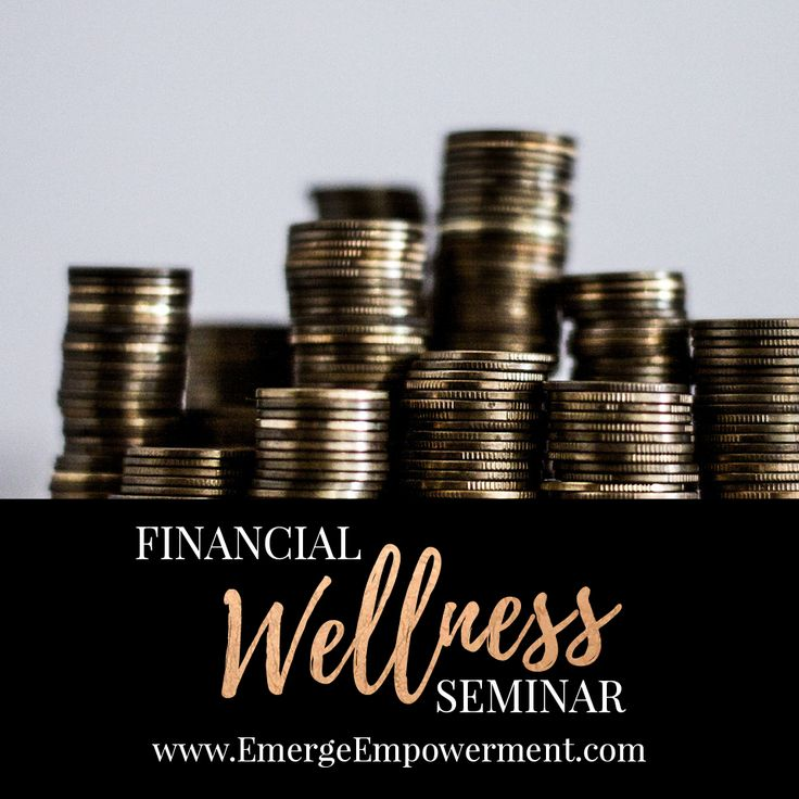 """1/19/17 Financial education is important for everyone. Whether you're single, married, divorced; young or older, being educated about finances helps ease worry and concern, not just for your future, but for today as well. There are no """"secrets"""" to financial security and financial security isn't just for the wealthy. Register here: http://emergeempowerment.com/shop/financial-wellness-seminar/"""
