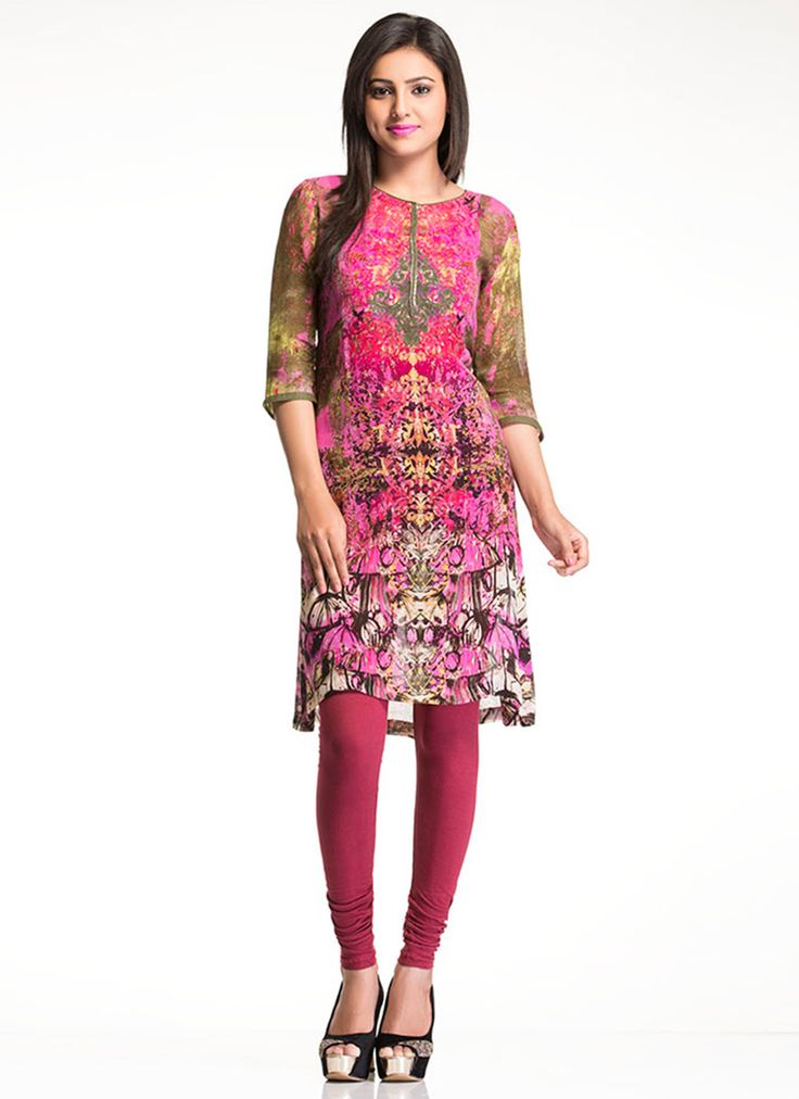 Mesmeric Multicolored #Kurti