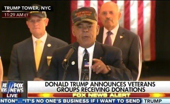WOW! Watch New Hampshire Lawmaker and Veteran BLAST Press for Smearing Trump on Veterans Donations (VIDEO)