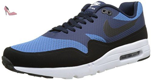 Nike Air Max 1 Ultra Essential, Basses Homme, Bleu (Star Blue/Black/Obsidian/White), 46 EU - Chaussures nike (*Partner-Link)
