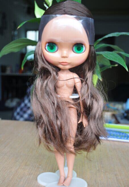 Blyth muñeca con cuerpo unido, pelo castaño, DH11, estar en forma para personalizar muñeca, muñeca de piel oscura en Muñecas de Juguetes y Pasatiempos en AliExpress.com   Alibaba Group