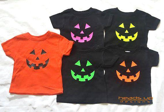 Toddler citrouille Shirt Girl/Boy  par Headsupshirtdesigns sur Etsy