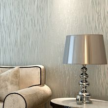 Rayas modernas del papel pintado 3D estilos salón dormitorio telón de fondo de papel tapiz que acuden brillo de moda rayas decoración de la pared Wallpaper(China (Mainland))