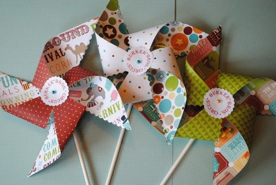 Pinwheel craft for carnival themed vbs?