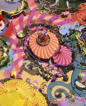 Alex S. MacLean Aerial Photography - Seuss Landing at Universal Studios, Florida