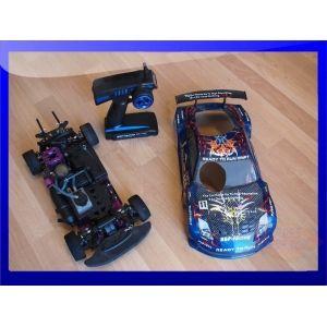 Coche RadioControl HSP Racing 1/10 ruedas blandas, cambiada las piezas de dirección, aceleración y ... http://www.mano-segunda.com/677-2177-thickbox/comprar-coche-gasolina-rc-radiocontrol-con-mando-de-segunda-mano.jpg