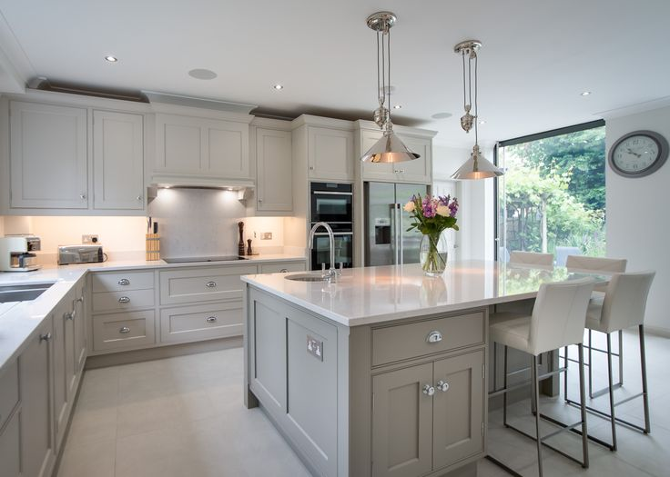 Beautiful kitchen in Hertford by John Ladbury and Company.