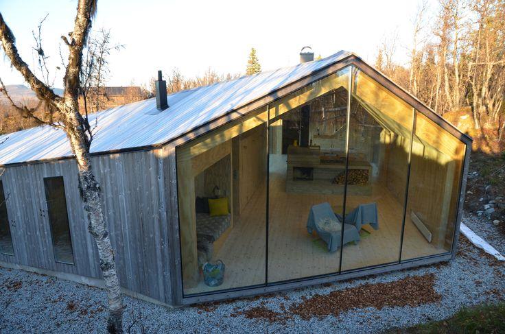 V-Lodge / Reiulf Ramstad Arkitekter – nowoczesna STODOŁA | wnętrza & DESIGN | projekty DOMÓW | dom STODOŁA