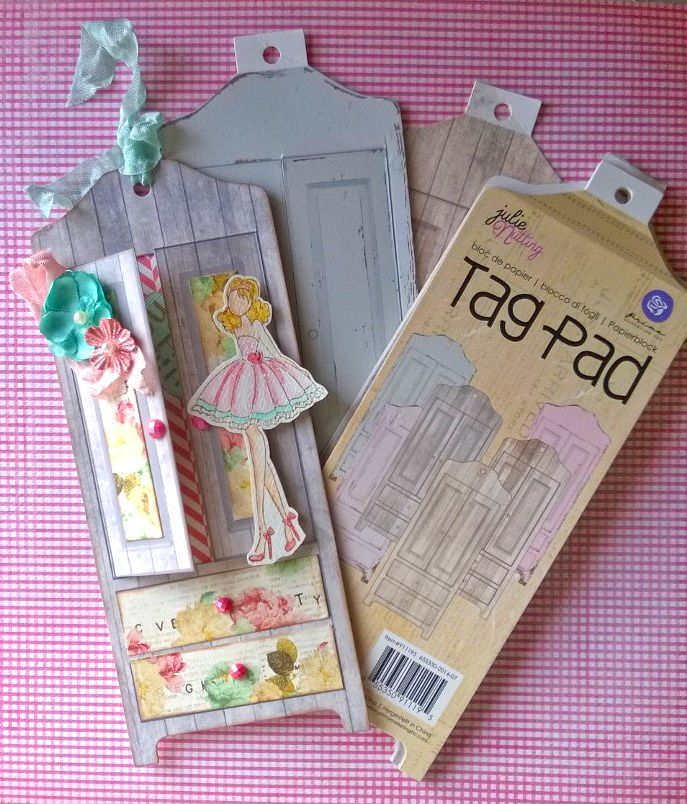 It's all about the paper dolls! Sweet tags by Julie Nutting on Live with Prima-4/28 at 11:00am PT here: http://www.ustream.tv/channel/primaflower #julienutting #dolls #tags