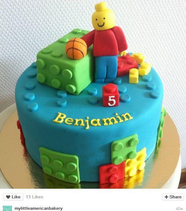 Gâteau d'anniversaire Lego                                                                                                                                                                                 Plus