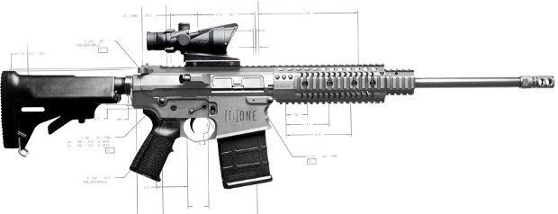 NEMO Arms Titanium .308 Winchester AR-10