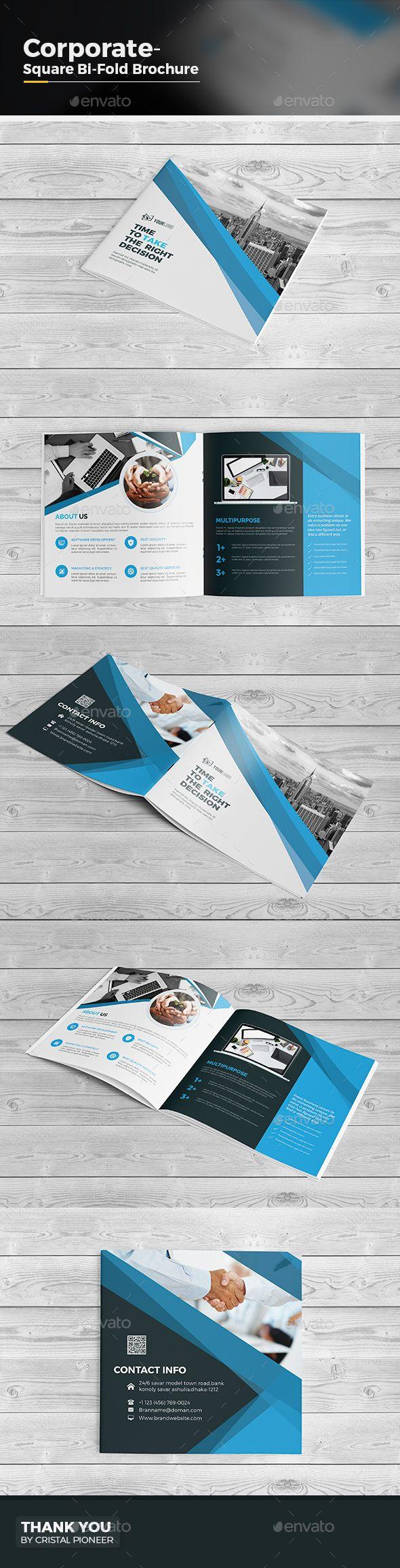 25 best ideas about bi fold brochure on pinterest