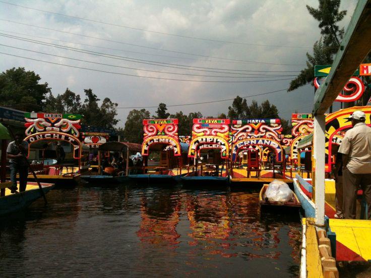 Embarcadero Nuevo Nativitas in Xochimilco, Federal District