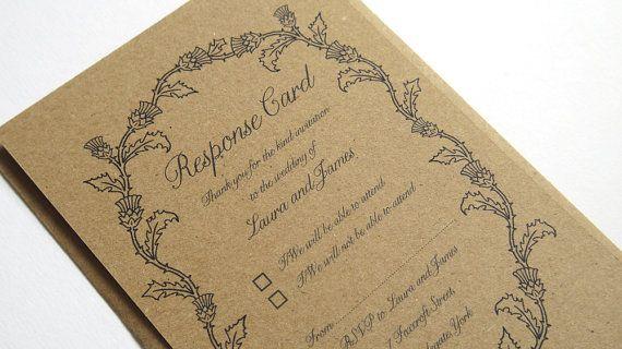 Wedding Invites Scotland: 17 Best Ideas About Thistle Wedding On Pinterest