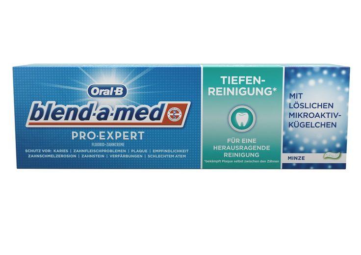 Oral-B blend-a-med Pro-Expert Fluorid-Zahnpasta Tiefenreinigung*, 75 ml: Amazon.de: Drogerie & Körperpflege