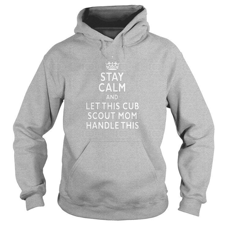 Stay Calm Cub Scout Mom Tshirt