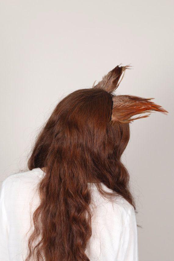 Red Fox Ears Animal Ears Fox Headdress Festival Headdress