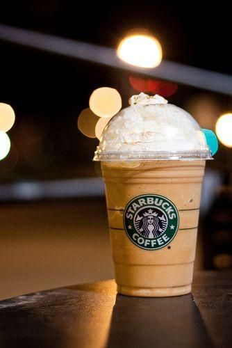 Pumpkin Spice Frappuccino Starbucks Winter Fall drink