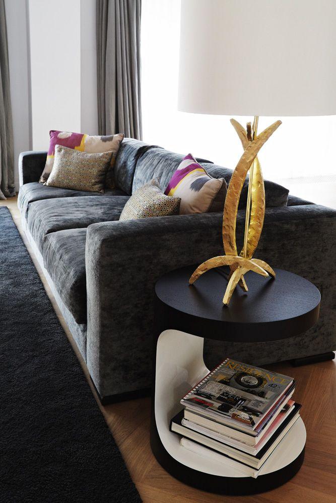 George Smith sofa interior design by - Evelijn Ferwerda & Rachel van Dullemen