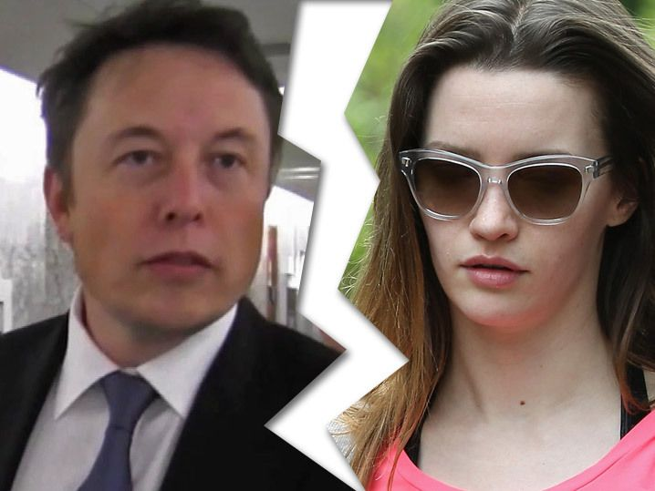 Elon Musk -- Second Marriage Kaput ... Wife Files For Second Divorce