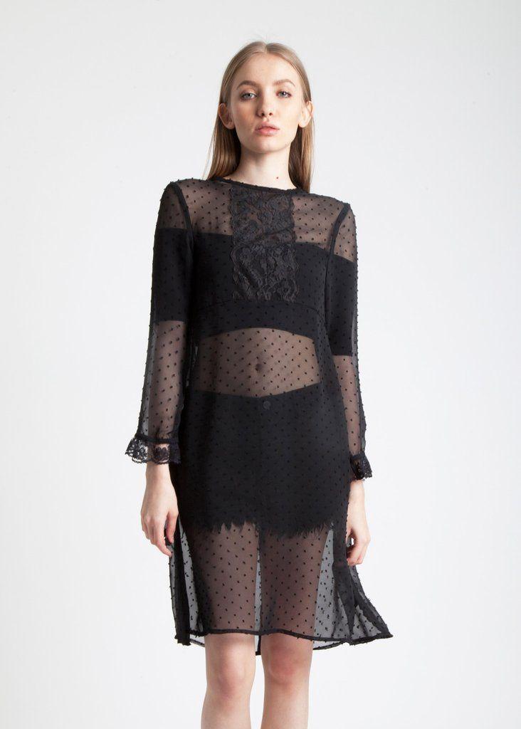 Black Ursula Dress