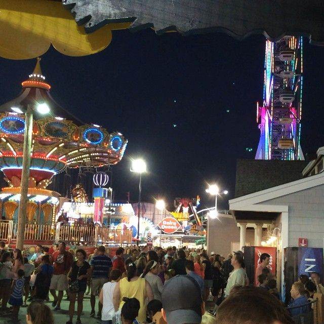 Ocean City NJ Boardwalk rides | Raiders of the Lost Tumblr