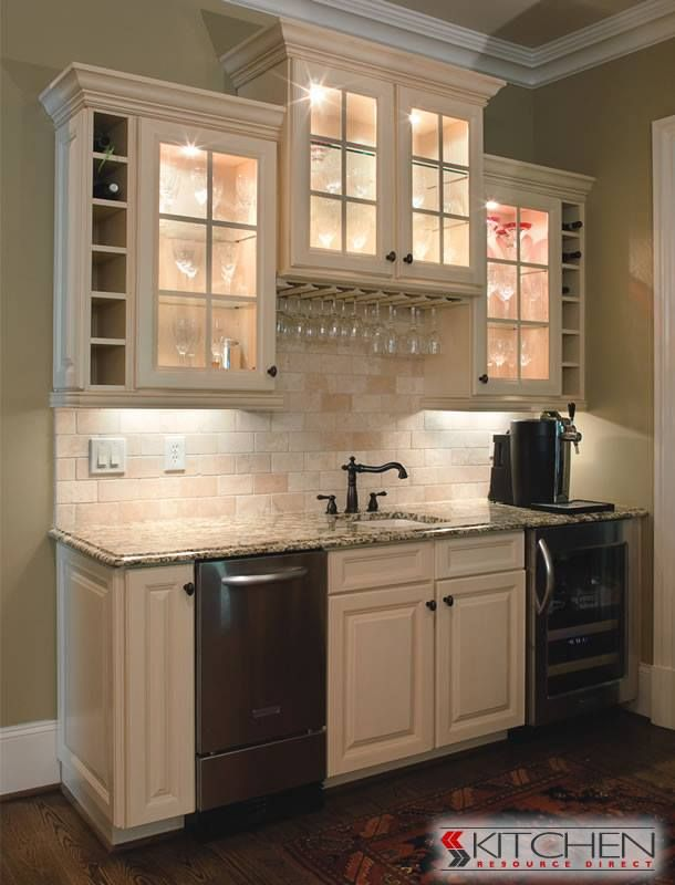17 best images about deerfield cabinets on pinterest bar areas transitional kitchen and north - Wet bar cabinets ...