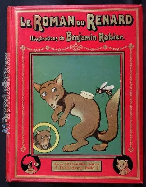 Le Roman de Renard, Benjamin Rabier