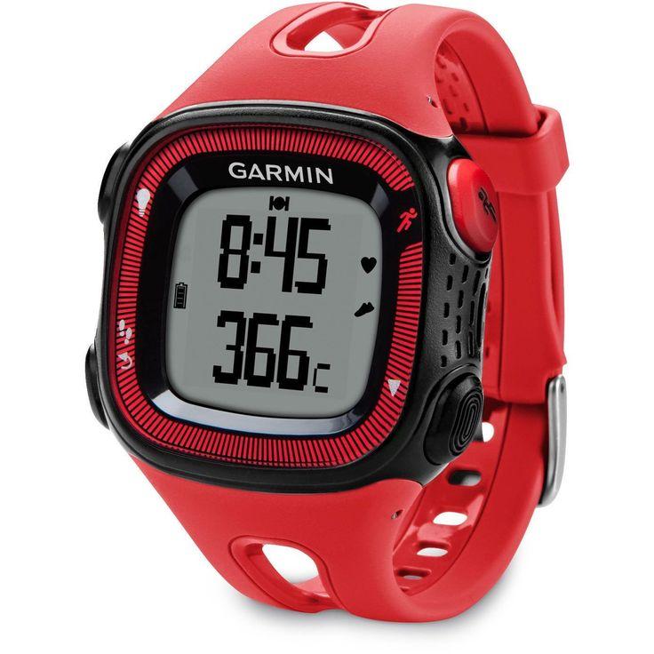 Garmin Forerunner 15 Running GPS Watch Bundle