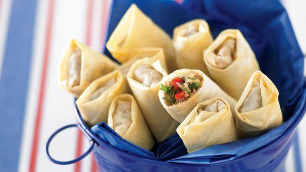 Vegetable spring rolls recipe - 9Kitchen