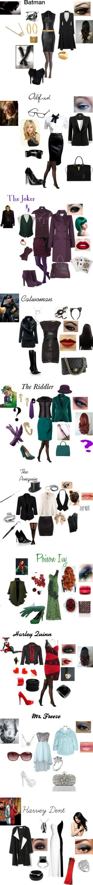 """Batman"" by nchavez113 on Polyvore Even though this isn't Disney, it makes for a great rule breaker"