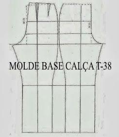 Moldes Moda por Medida: MOLDES BASE