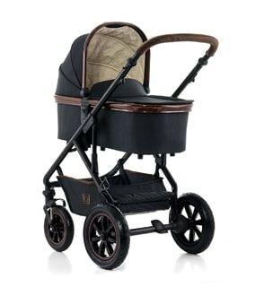 Gewinne mit ELTERN VORTEILSWELT und ELTERN Wissen den Moon Nuova Wood Style Kinderwagen im Wert von 589 Euro.