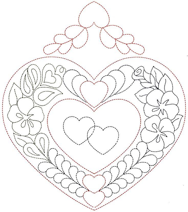 qisforquilter.com ~ heart pattern