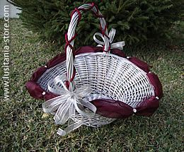 cestas de casamento | Exemplos de arranjos para cestas de lembrancinhas de casamento para ...