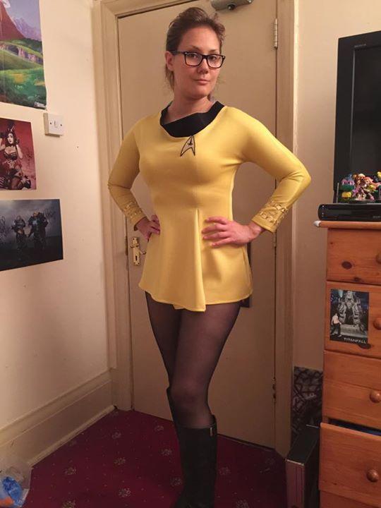 Star trek sexy cosplay