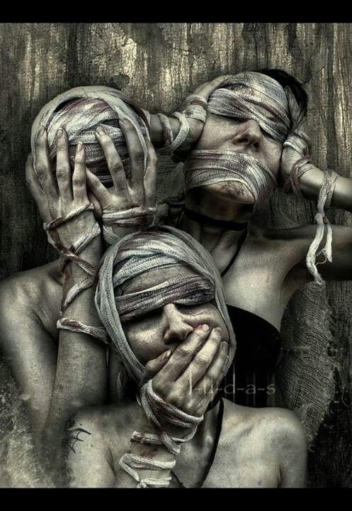 Dark art: See no Evil, Hear no Evil, Speak no Evil