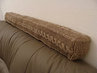 Cabled Door Draught Excluder by SaBine Vogelpoth - free