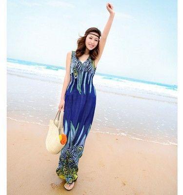 Deep v maxi dress xl