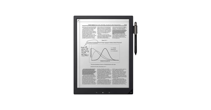 Digital Paper System | Electronic Notepad & Paper | DPT-S1 | Sony US