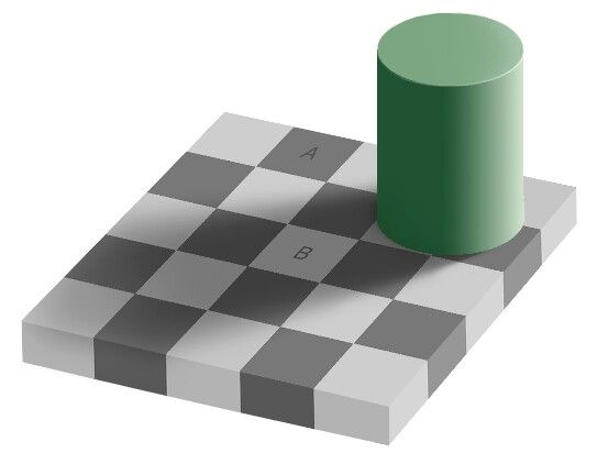 A and b Are identical colors