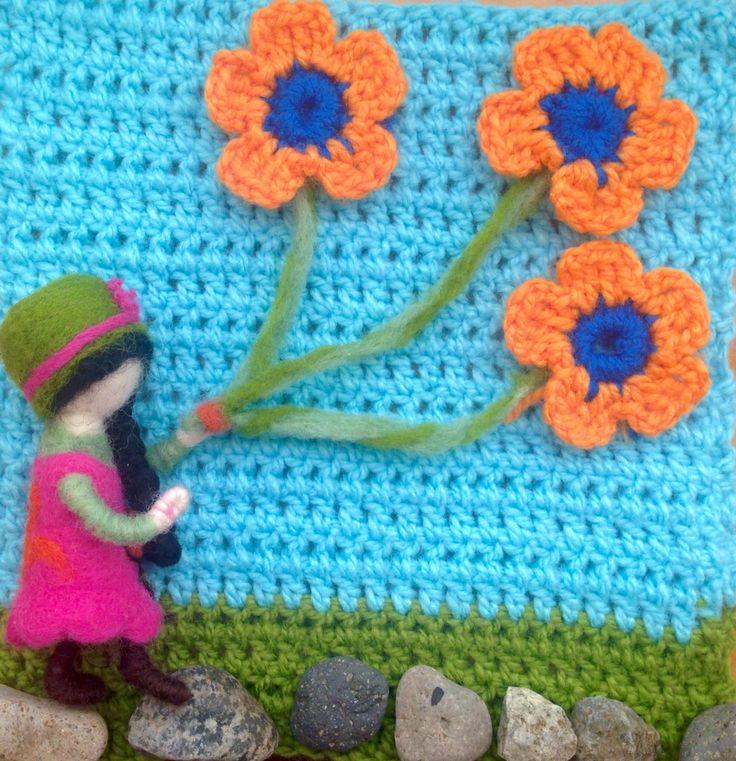 Flores al viento...