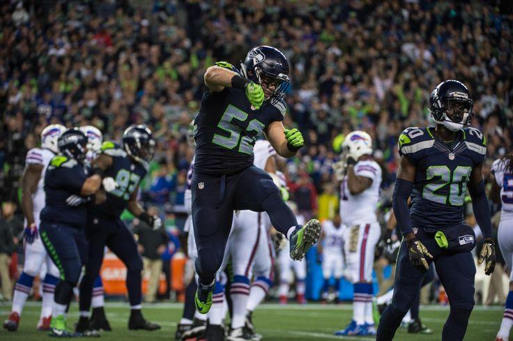 Week 9: Seahawks vs Bills | Seattle Seahawks #52 Brock Coyle