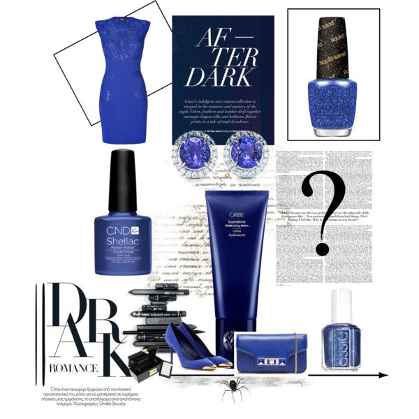 """""""Into the #blue #polish #fashion #mykonos #trends"""" by unghie-bellezza on Polyvore"""