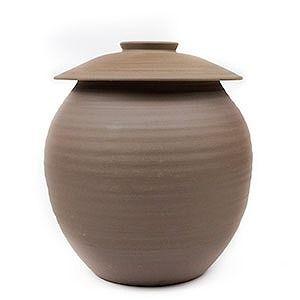 越前焼の味噌壺 越前有機味噌蔵 マルカワみそ