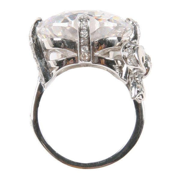 Ring by Juicy Couture Accessories ❤ liked on Polyvore featuring jewelry, rings, accessories, juicy couture jewelry, juicy couture ring, juicy couture jewellery and juicy couture